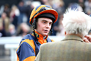 Jockey Jamie Hamilton during the Bet365 Meeting at Wetherby Racecourse, Wetherby, United Kingdom on 3 November 2018. Picture by Mick Atkins.