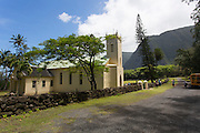 St Philomena, Father Damiens church, Kalaupapa Peninsula, Molokai, Hawaii