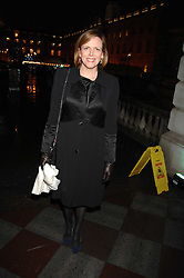 The COUNTESS OF WOOLTON at a Winter Party to celebrate the opening of the Ice Rink at Somerset House, London in association with jewellers Tiffany on 20th November 2007.<br /><br />NON EXCLUSIVE - WORLD RIGHTS