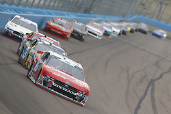 March 10, 2018 - Avondale, Arizona, United States of America - March 10, 2018 - Avondale, Arizona, USA: Ryan Reed (16) brings his race car down the front stretch during the DC Solar 200 at ISM Raceway in Avondale, Arizona. (Credit Image: © Chris Owens Asp Inc/ASP via ZUMA Wire)