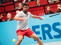 25.10.2018, Wiener Stadthalle, Wien, AUT, ATP Tour, Erste Bank Open, im Bild Fernando Verdasco (ESP) // Fernando Verdasco of Spain during the Erste Bank Open of ATP Tour at the Wiener Stadthalle in Wien, Austria on 2018/10/25. EXPA Pictures © 2018, PhotoCredit: EXPA/ Michael Gruber