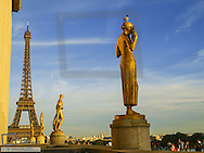 Paris, Eiffel Tower, Tour Eiffel, Trocadero, France