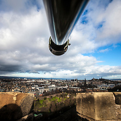 View from Edinburgh Castle, Scotland Feb 2015