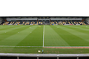 Burton Albion ground ahead of the Sky Bet League 1 match between Burton Albion and Oldham Athletic at the Pirelli Stadium, Burton upon Trent, England on 26 March 2016. Photo by Jon Hobley.
