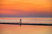 Boogie boarding, Skaket Beach, Orleans, Cape Cod, MA,