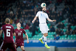 Miha Mevlja during the 2020 UEFA European Championships group G qualifying match between Slovenia and Latvia at SRC Stozice on November 19, 2019 in Ljubljana, Slovenia. Photo by Sasa Pahic Szabo / Sportida