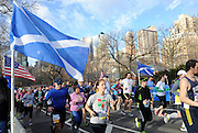Over 8,000 runners participate in the 12th annual Scotland Run in New York's Central Park to celebrate Scotland Week festivities, Saturday, April 4, 2015.  (Photo by Diane Bondareff/Invision for Scottish Government/AP Images)