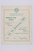 Interprovincial Railway Cup Football Cup Final,  17.03.1951, 03.17.1951, 17th March 1951, Connacht 1-09, Munster 1-08,.Interprovincial Railway Cup Hurling Cup Final,  17.03.1951, 03.17.1951, 17th March 1951, Leinster 3-06, Munster 4-09,