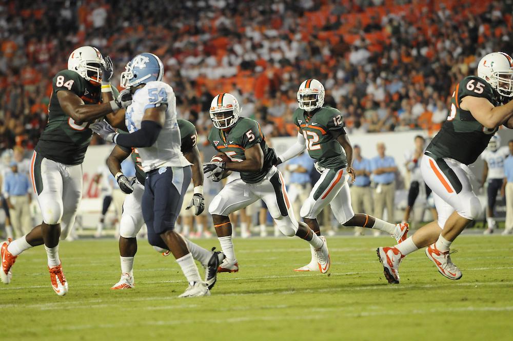 2010 Miami Hurricanes Football vs North Carolina