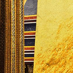Golden Chedi, Temple of the Emerald Buddha,<br /> Bangkok, Thailand