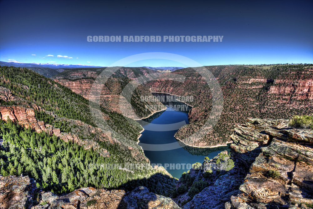 RED CANYON OVERLOOK - FLAMING GORGE NATIONAL RECREATION AREA  UTAH