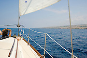 sailing aboard Mailae