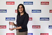 Rashmi Garde of Centrify poses for a photo during the Bay Area Corporate Counsel Awards at The Westin San Francisco Airport in Millbrae, California, on March 18, 2019. (Stan Olszewski for Silicon Valley Business Journal)