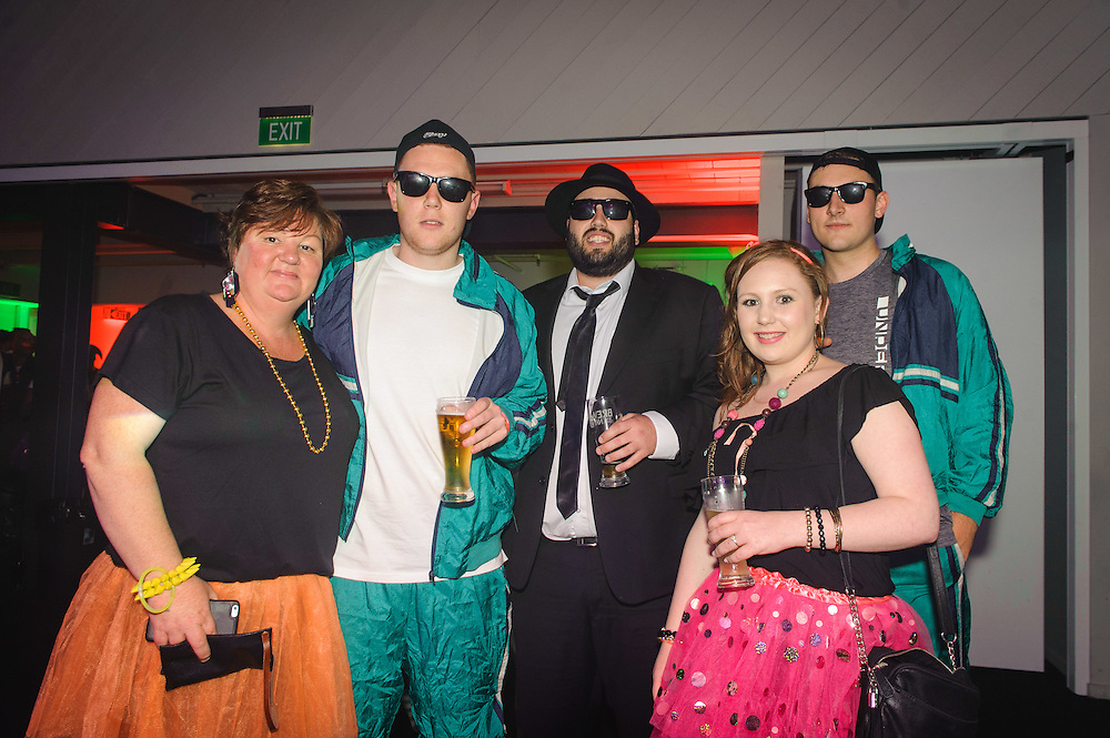 Back to the 80's – Wellington Staff Xmas Party. WELLINGTON, NEW ZEALAND - December 01: Westpac Bank December 01, 2015 Mac's Function Centre, Wellington, New Zealand. (Photo by Mark Tantrum/ http://mark tantrum.com)