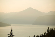 Howe Sound.  Near Vancouver BC, Canada