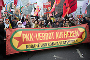 Protest against the PKK ban