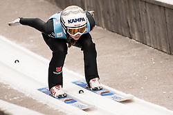 February 7, 2019 - Ljubno, Savinjska, Slovenia - Juliane Seyfarth of Germany competes on qualification day of the FIS Ski Jumping World Cup Ladies Ljubno on February 7, 2019 in Ljubno, Slovenia. (Credit Image: © Rok Rakun/Pacific Press via ZUMA Wire)