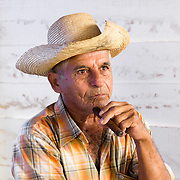 Portrait of Cuban tobacco farmer