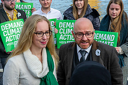 Pictured: Patrick Harvie and Lorna Slater<br />