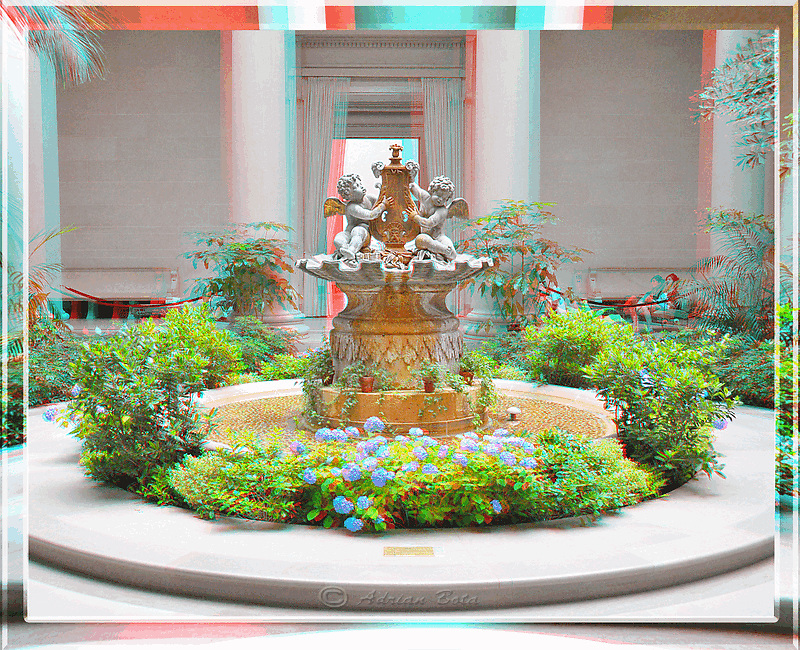 Fountain Old Art Gallery Washington DC