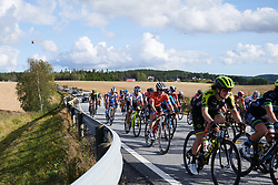 Heidi Franz (USA) in the bunch during Ladies Tour of Norway 2019 - Stage 2, a 131 km road race from Mysen to Askim, Norway on August 23, 2019. Photo by Sean Robinson/velofocus.com