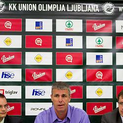 20120508: SLO, Basketball - Press conference of Slobodan Subotic, new director of KK Union Olimpija