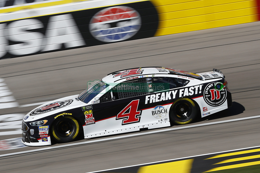 March 2, 2018 - Las Vegas, Nevada, United States of America - March 02, 2018 - Las Vegas, Nevada, USA: Kevin Harvick (4) brings his race car down the front stretch during practice for the Pennzoil 400 at Las Vegas Motor Speedway in Las Vegas, Nevada. (Credit Image: © Chris Owens Asp Inc/ASP via ZUMA Wire)