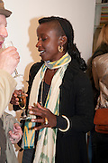 ZOE BEDEAUX, David Salle private view at the Maureen Paley Gallery. 21 Herlad St. London. E2. <br /> <br />  , -DO NOT ARCHIVE-&copy; Copyright Photograph by Dafydd Jones. 248 Clapham Rd. London SW9 0PZ. Tel 0207 820 0771. www.dafjones.com.