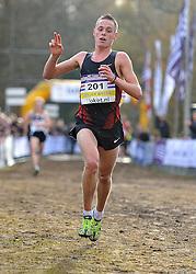 27-11-2011 ATLETIEK: NK CROSS 53e WARANDELOOP: TILBURG<br /> Jesper van der Wielen wordt tweede op het NK in 31:00<br /> ©2011-FotoHoogendoorn.nl
