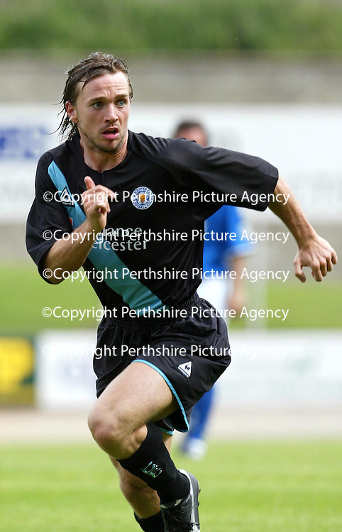 St Johnstone v Leicester City..24.07.04 (Friendly) <br />David Connolly<br /><br />Picture by Graeme Hart.<br />Copyright Perthshire Picture Agency<br />Tel: 01738 623350  Mobile: 07990 594431