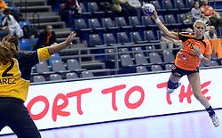 07-12-2013 HANDBAL: WERELD KAMPIOENSCHAP NEDERLAND - DOMINICAANSE REPUBLIEK: BELGRADO <br /> 21st Women s Handball World Championship Belgrade, Nederland wint met 44-21 / Estavana Polman<br /> ©2013-WWW.FOTOHOOGENDOORN.NL