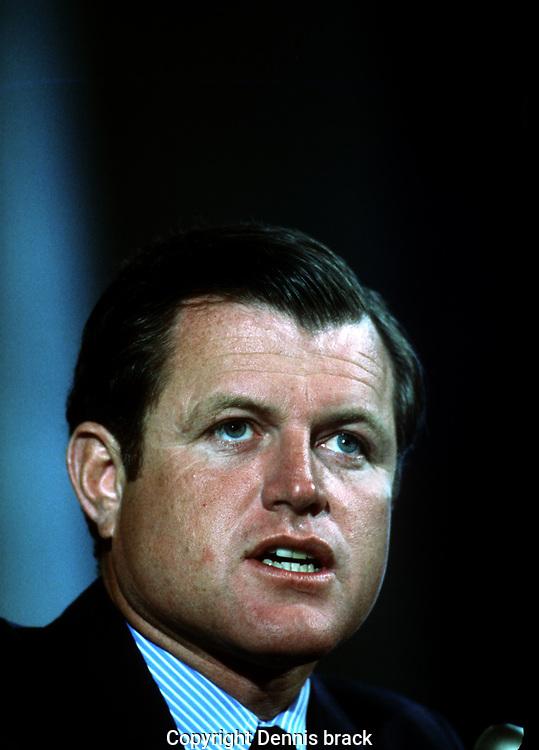 Washington DC 1970/11/01  Senator Ted Kennedy in November 1970<br /><br />Photo by Dennis Brack  B 8