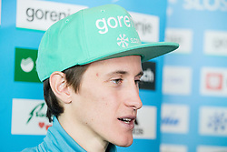 Peter Prevc during press conference of Slovenian Nordic Ski team before new season 2017/18, on November 14, 2017 in Gorenje, Ljubljana - Crnuce, Slovenia. Photo by Vid Ponikvar / Sportida