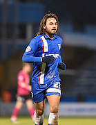 Gillingham midfielder Bradley Dack during the Sky Bet League 1 match between Gillingham and Peterborough United at the MEMS Priestfield Stadium, Gillingham, England on 23 January 2016. Photo by David Charbit.