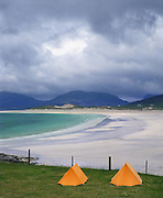 Beautiful beaches near Luskentyre, South harris, outer Hebrides