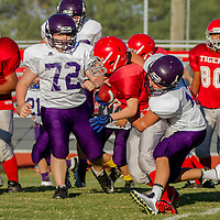 Berryville 7th Grade Football vs. Green Forest (09-17-15)