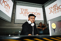 Francois Kevorkian and Anton Wirjono at The Junction, Hu'u Bar, Bali, Indonesia, 31/8/2013.
