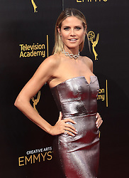 .Heidi Klum  attends  2016 Creative Arts Emmy Awards - Day 2 at  Microsoft Theater on September 11th, 2016  in Los Angeles, California.Photo:Tony Lowe/Globephotos