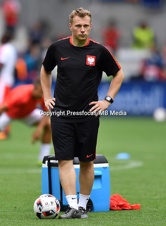 2016.06.25 Saint-Etienne<br /> Pilka nozna Euro 2016<br /> mecz 1/8 finalu Szwajcaria - Polska<br /> N/z Wojciech Herman<br /> Foto Lukasz Laskowski / PressFocus<br /> <br /> 2016.06.25<br /> Football UEFA Euro 2016 <br /> Round of 16 game between Switzerland and Poland<br /> Wojciech Herman<br /> Credit: Lukasz Laskowski / PressFocus