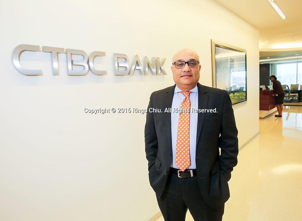 Noor Menai, President and CEO of CTBC Bank.<br /> (Photo by Ringo Chiu/PHOTOFORMULA.com)<br /> <br /> Usage Notes: This content is intended for editorial use only. For other uses, additional clearances may be required.