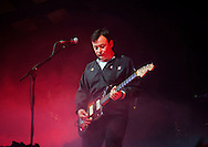 James Dean Bradfield of Manic Street Preachers performs on stage at Barrowlands Ballroom on December 8, 2014 in Glasgow, United Kingdom. (Photo by Ross Gilmore