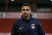 Coventry City forward, on loan from Norwich City, Jacob Murphy (25)  during the Sky Bet League 1 match between Barnsley and Coventry City at Oakwell, Barnsley, England on 1 March 2016. Photo by Simon Davies.