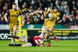 Ryan Edwards of Bristol Rugby in action - Rogan Thomson/JMP - 03/12/2016 - RUGBY UNION - Kingsholm Stadium - Gloucester, England - Gloucester Rugby v Bristol Rugby - Aviva Premiership.