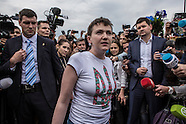 Nadia Savchenko Returns to Ukraine