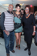 13 September 2010- New York, NY- l to r: Nelson George, Veronica Webb and  Harriet Cole at I-Ella.com launch party where you can edit your wardrobe and shop celebrity closets while supporting social change sponsored by InStyle on September 13, 2010 and held at Alice Truly Hall, Lincoln Center in New York City. Photo Credit: Terrence Jennings