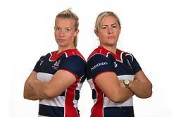 Sian Moore and Marlie Packer of Bristol Rugby Ladies - Mandatory by-line: Dougie Allward/JMP - 09/09/2017 - FOOTBALL - Cleve RFC - Bristol, England - Bristol Rugby Ladies