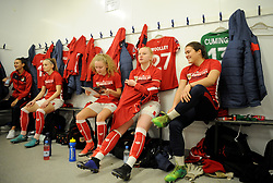 Bristol City Women prior to kick-off- Mandatory by-line: Nizaam Jones/JMP - 06/01/2019 - FOOTBALL - Stoke Gifford Stadium- Bristol, England - Bristol City Women v Manchester City Women - FA Women's Super League 1