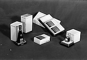 22-23/06/1965<br /> 06/22-23/1965<br /> 22-23 June 1965<br /> Winning packages for the Irish Packaging Institute. Shee-Gwee Melina soap, bath oil and Skin perfume.