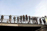 Roma 3 Marzo 2012.Manifestazione No Tav in  solidarieta' con  gli abitanti della Val Susa e per la liberazione degli  arrestati.I  fotoreporter  al lavoro