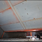 Cantiere del termovalorizzatore di Torino Gerbido in via Pancalieri. .E' un impianto per la combustione di rifiuti solidi urbani (RSU) residui dalla raccolta differenziata e di rifiuti speciali assimilabili agli urbani (RSA).Trattamento Rifiuti Metropolitani SpA